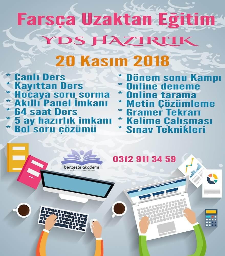 Farsça YDS Dersleri